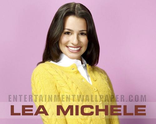 Lea Michele karatasi la kupamba ukuta entitled Lea Michele