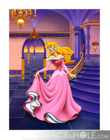 Linsay as a princess