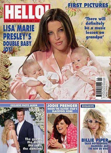 Lisa Marie: Magazine Covers