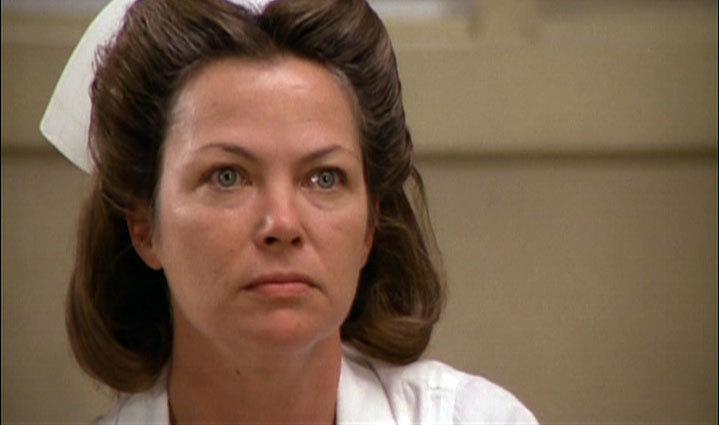 nurse Louise ratched as fletcher
