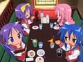 Lunch^^ - lucky-star wallpaper