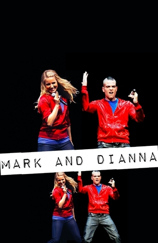 Mark&Di on Glee Tour