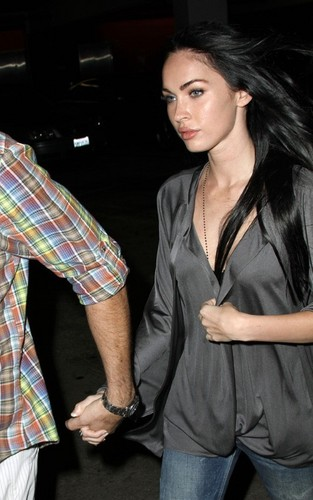Megan & Brian out in Hollywood