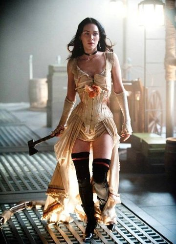 Megan rubah, fox in Jonah Hex