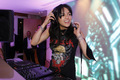 Michelle DJing at The Chopard Trophy After Party at the Cannes Film Festival on May 13,2010