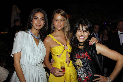 Michelle at The Chopard Trophy After Party at the Cannes Film Festival on May 13, 2010