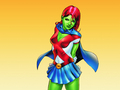 Miss Martian - femme-fatales wallpaper
