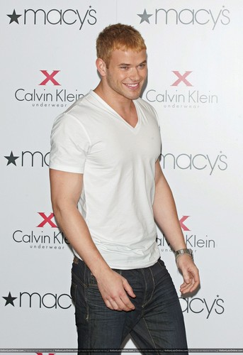 More Pics: Kellan promoting Calvin Klein X Underwear At Macy's