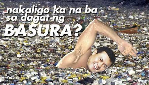 The Philippines wallpaper called Nakaligo ka na ba sa dagat ng basura?
