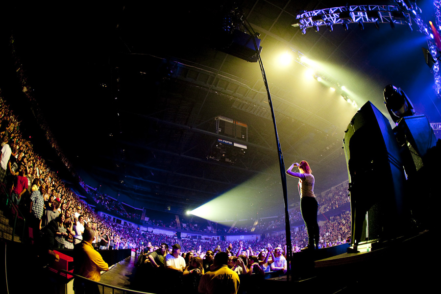Paramore in Bakersfield