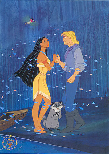 Disney Couples wallpaper called Pocahontas and John Smith