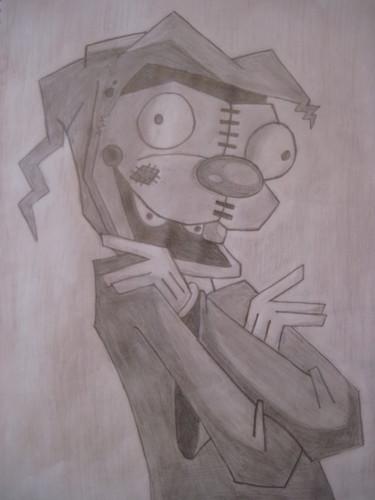 Invader Zim wallpaper titled Poop Dog!!! ^-^