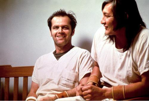 R.P. McMurphy and Chief Bromden