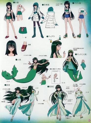 Mermaid Melody Hintergrund titled Rina