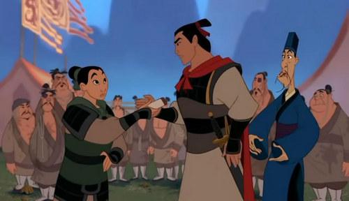 Disney Prince Hintergrund called Shang