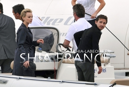 Shia & Carey out in Cannes