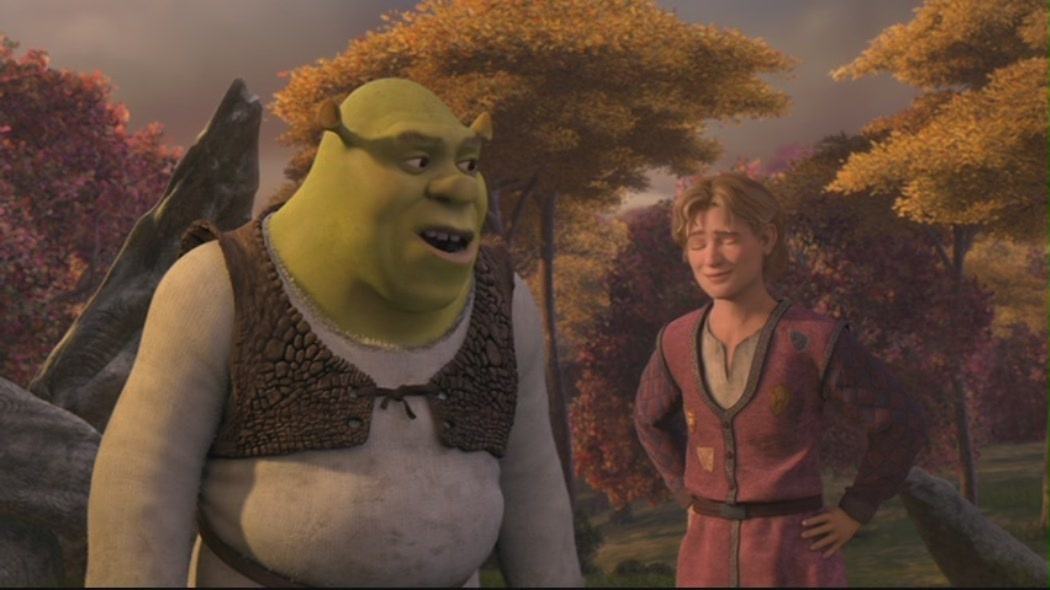 an analysis of the characters of shrek and lord farquaad from the movie shrek With: shrek - brian d'arcy james princess fiona - sutton foster lord farquaad - christopher sieber pinocchio, magic mirror, dragon puppeteer 2001 movie enlivened its storybook traditions with rude humor, gleefully anachronistic pop- culture references and knockabout characters brimming with heart.