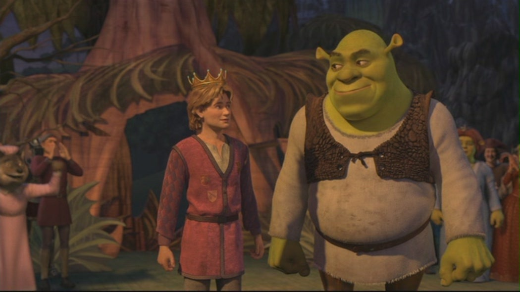 animated film shrek essay Shrek analyse the techniques used by film makers in the opening sequence of 'shrek' the opening of a film is important as it has to set the scene, whilst also introducing the characters and themes in 'shrek' the introduction of the production introduces the main protagonist as well as some of the major recurring themes (for example the subversion.