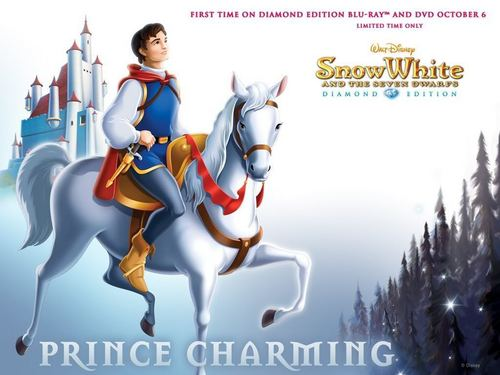 Disney Prince Hintergrund called Snow White's Prince