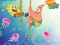 Spongebob Squarepants and Patrick দেওয়ালপত্র