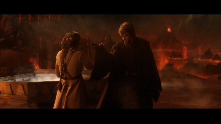The skywalker family star wars: episode iii-anakin &; padmé screencap