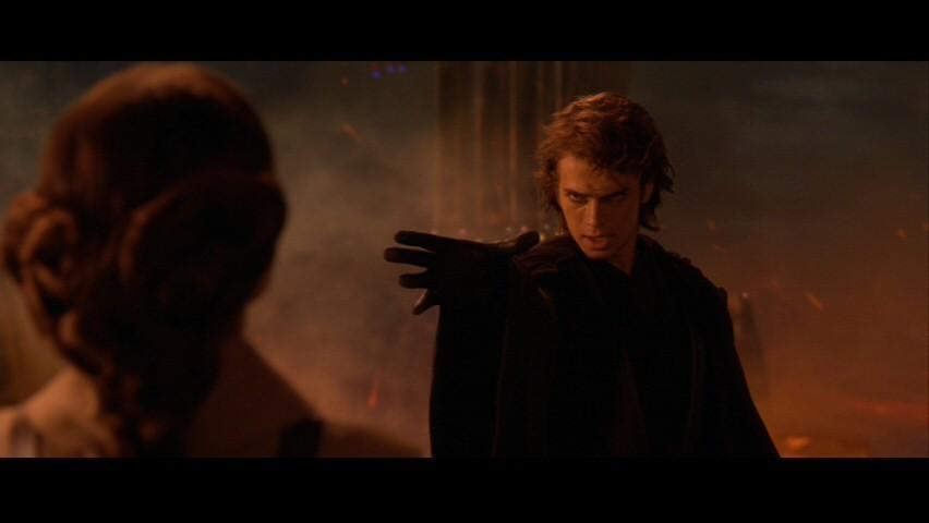The skywalker family star wars episode iii anakin padmé screencap