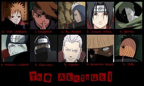 The Akatsuki!