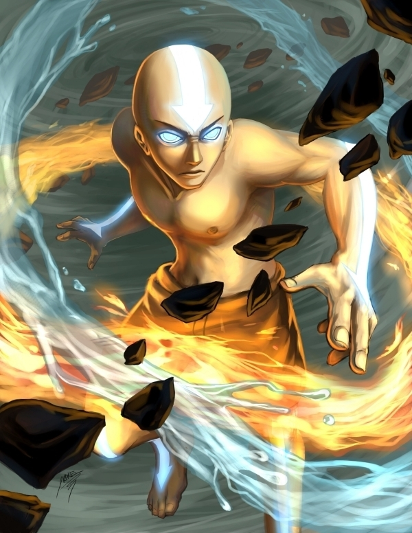 The Avatar State - Avatar: The Last Airbender 600x776