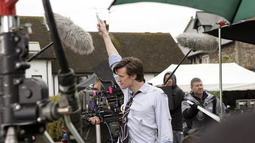 The Eleventh Hour ~ behind the scenes