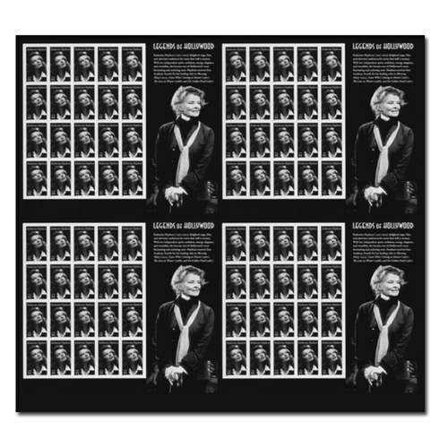 The Great Kate on a Postage Stamp