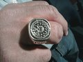 The ring he wears on Criminal Minds