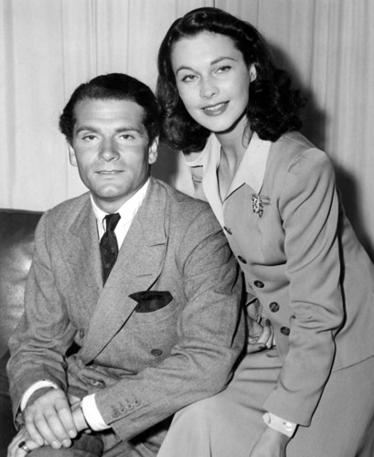 Vivien Leigh and Laurence Olivier