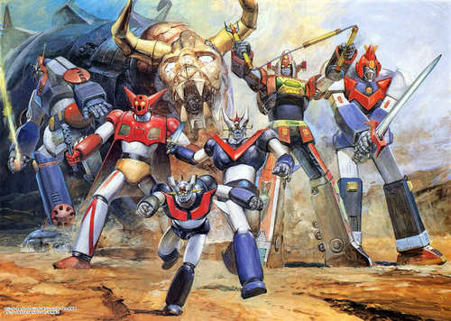 Voltes V and Friends
