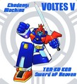 Voltes V and the Sword of Heaven