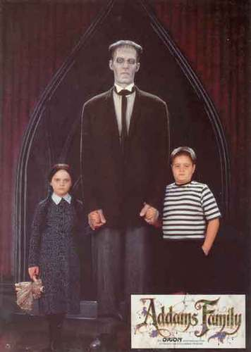 Wednesday, Lurch, and Pugsley