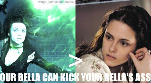 bella vs bellatrix