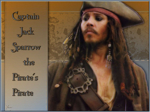 Pirates of the Caribbean wallpaper entitled captain jack