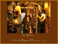 captain jack - pirates-of-the-caribbean wallpaper