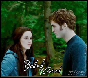 edward AND bella - twilight-series Fan Art
