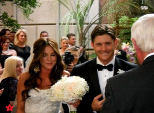 jensen's wed - jensen-ackles Photo