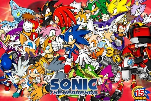 most 인기 sonic characters