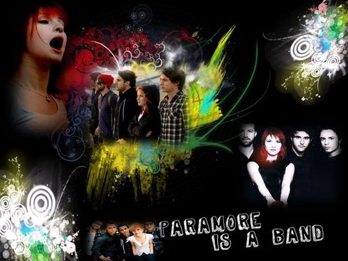 paramore is a band....