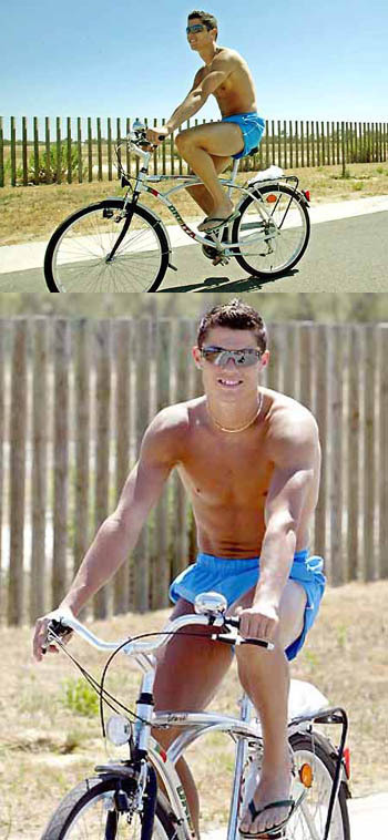 ronaldo bike