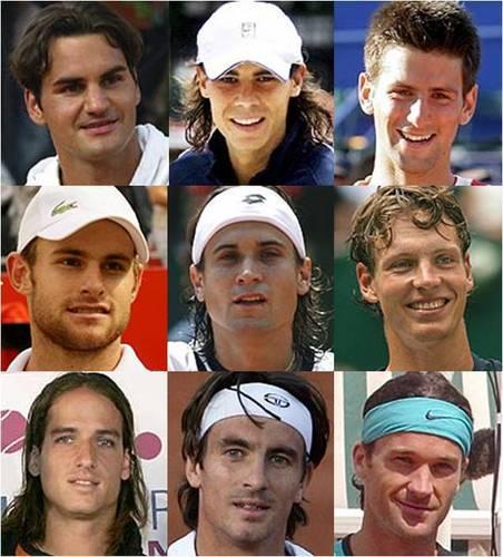 tennis players ******