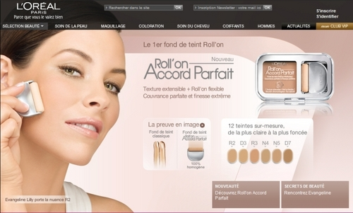 Evangeline Lilly- New L'Oreal