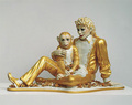 * GOLDEN MICHAEL & BUBBLES * - michael-jackson photo