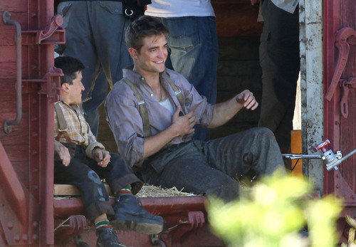 """Water For Elephants"" Set Pics (HQ)"