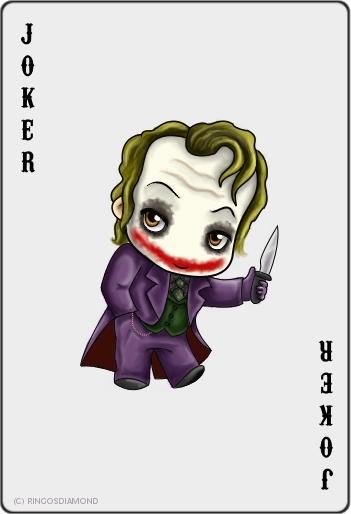 A Cute Joker Card