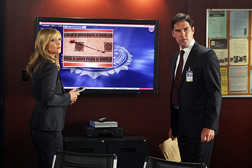 SSA Aaron Hotchner वॉलपेपर called Aaron Hotchner 5x23