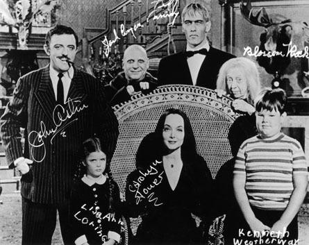 Addams 1964 Autographs